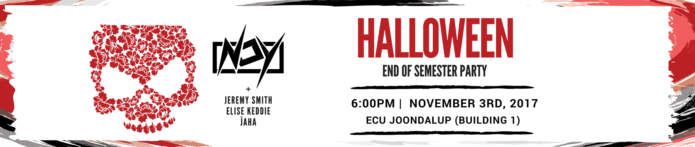 Halloween Party At ECU – Tickets On Sale