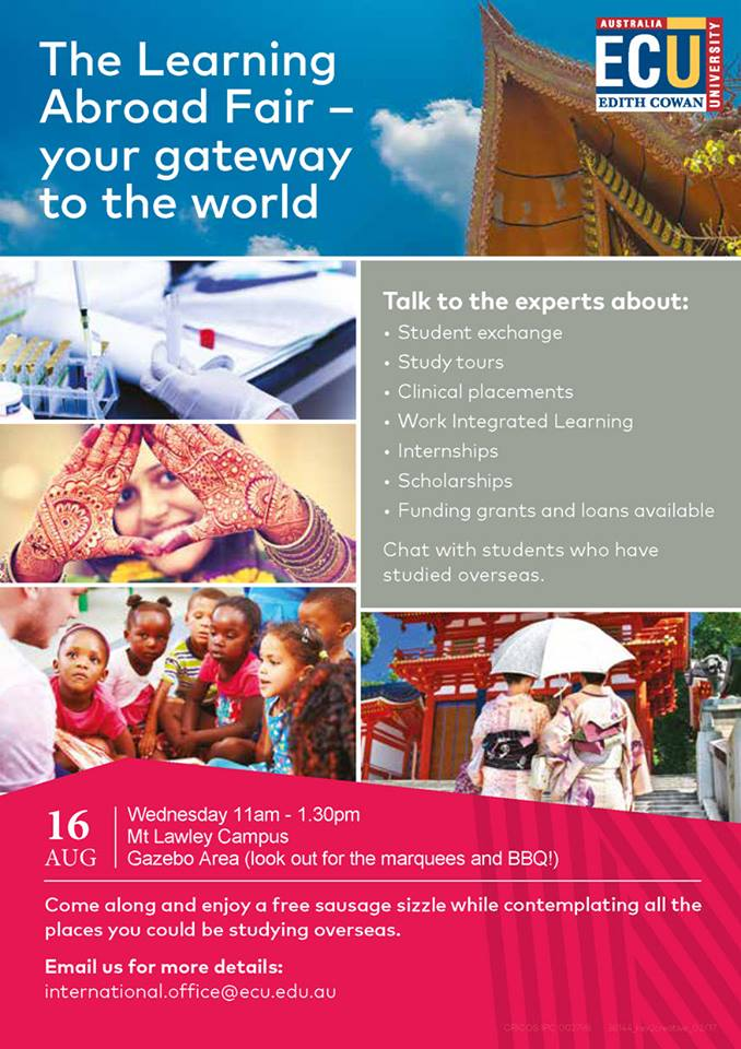 Learning Abroad Fair