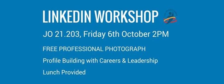 LinkedIn Workshop (with Professional Photographer)