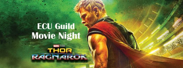 Thor Movie Night Banner
