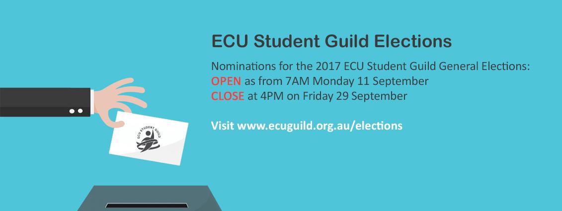 2017 ECU Student Guild Elections (Nominations Open)